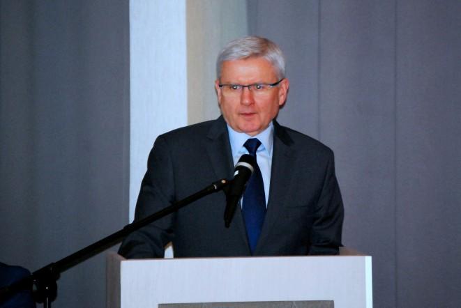 Dyrektor Generalny Dróg Krajowych i Autostrad Jacek Gryga. Zdjęcie: Mateusz Szarata